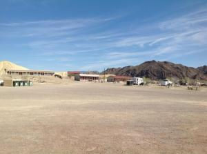 Our motel in Terlingua
