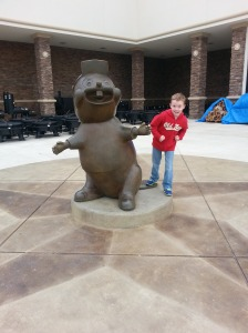 We drove down to San Antonio to visit family, and stopped at Buc-ee's.