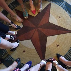 Listen TOE Your Mother Austin 2015.  The pretty shoe parade.