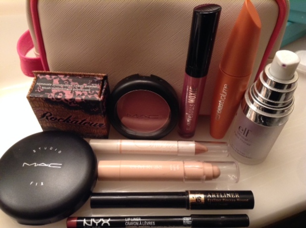 And this is all the stuff I used.